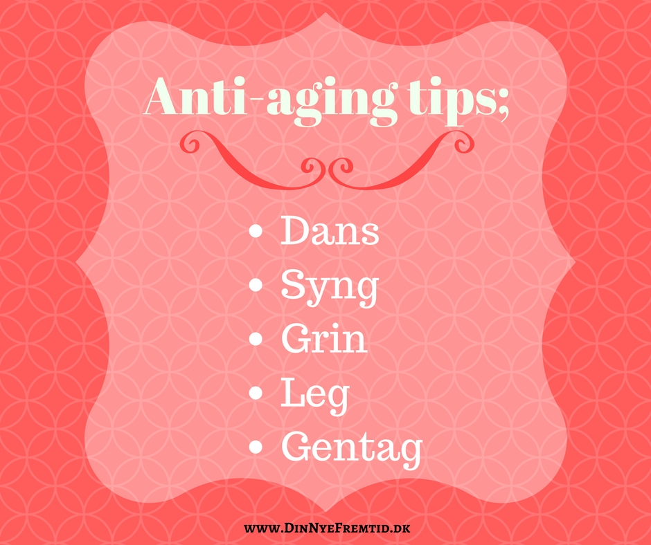Ant-aging tips